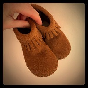 Minnetonka Moccasin Infant Back Flap Bootie